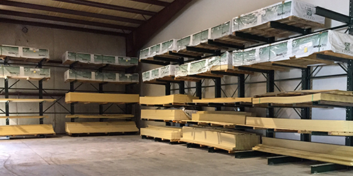 Thumbnail of Another angle of the New Racking at the Shallotte location