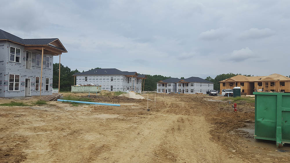 Building Housing in Greenville NC
