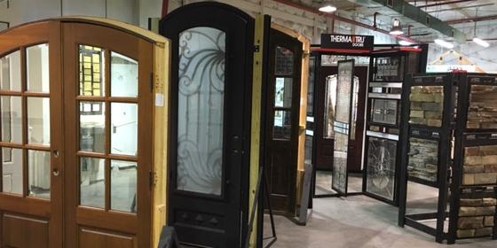 Door & Stone Display