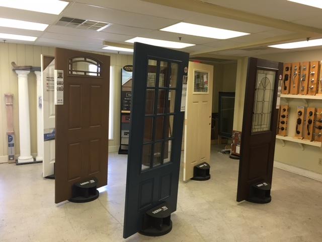 Standing Doors Display