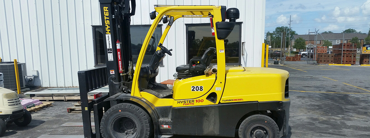 new hyster lift