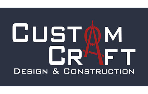 Custom Craft Design & Construction Logo