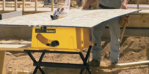 Preview of table saw