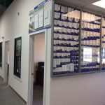 Millwork selection area & outside sales offices